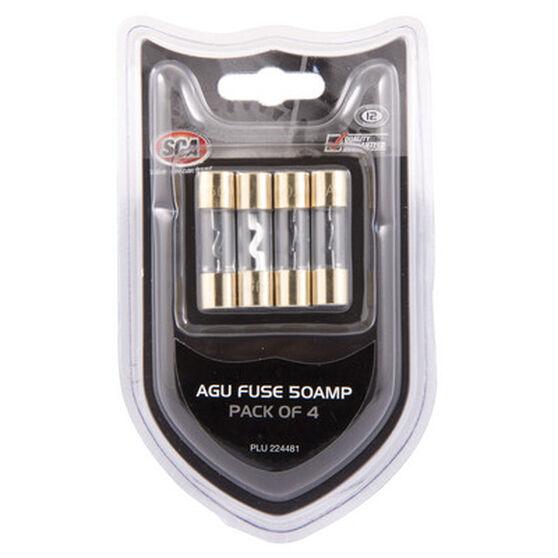 SCA Audio Fuse - 50Amp, 4 Pack, , scanz_hi-res