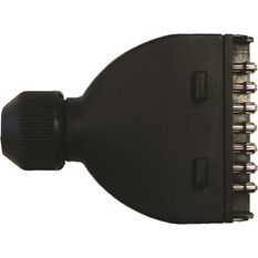 SCA Trailer Plug, Plastic - Flat, 7 Pin, , scanz_hi-res
