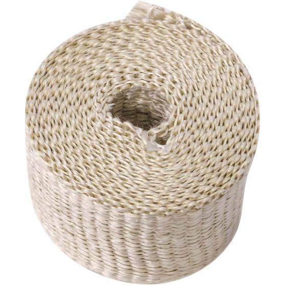 Exhaust Wrap - Fawn 2 Wide x 25Ft Long, , scanz_hi-res
