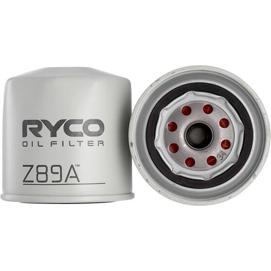 Ryco Oil Filter - Z89A, , scanz_hi-res