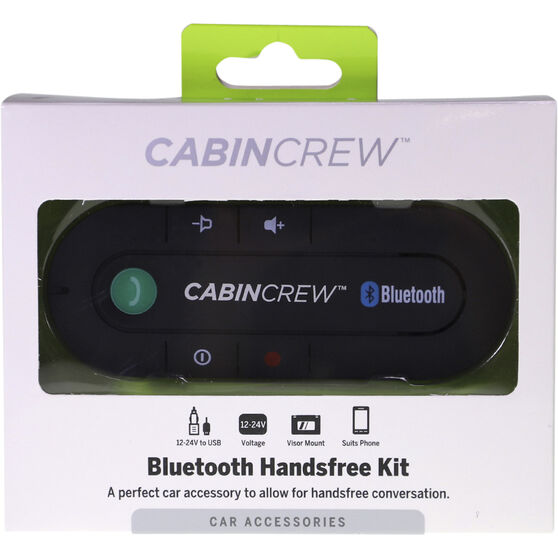 Cabin Crew Bluetooth Handsfree Car Kit - CC-BT365, , scanz_hi-res