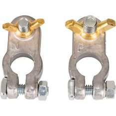 Battery Terminals - Wing Nut, 2 Pack, , scanz_hi-res