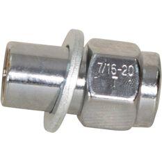 Calibre Wheel Nuts, Shank, Chrome - MN716, 7 / 16inch, , scanz_hi-res