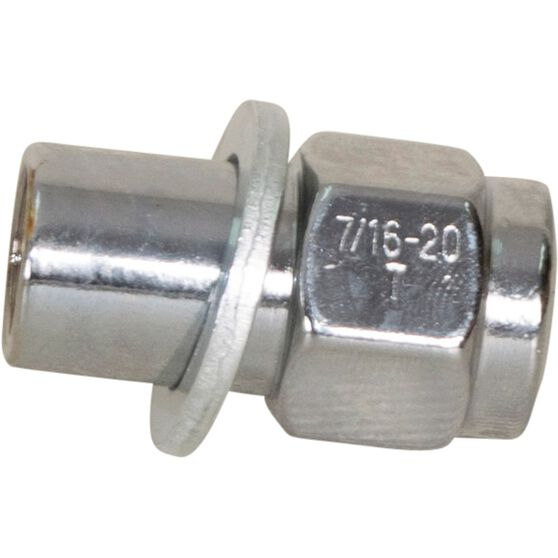 Calibre Wheel Nuts, Shank, Chrome - MN716, 7 / 16inch, , scanz_hi-res