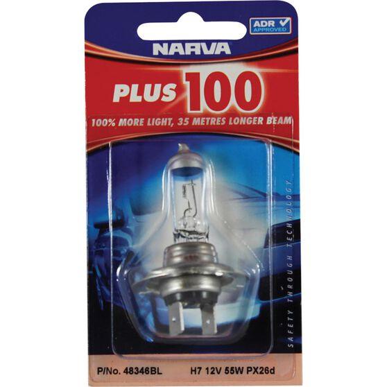 Narva Headlight Globe - Plus 100, H7, 12V, 55W, , scanz_hi-res