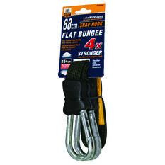 Gripwell Snap Hook Flat Bungee Strap - 88cm, , scanz_hi-res