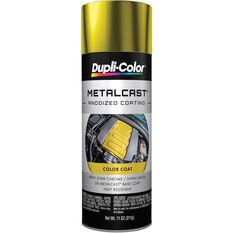 Dupli-Color Metalcast Aerosol Paint Enamel Yellow Anodised 311g, , scanz_hi-res
