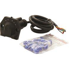 Trailer Socket Kit - 7 Pin, Round Socket, , scanz_hi-res