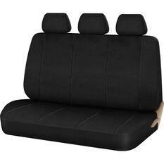 SCA Neoprene Seat Cover - Black, Adjustable Headrests, Rear Seat, , scanz_hi-res