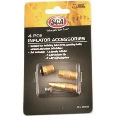 Inflator Air Adaptors - 4 Piece, , scanz_hi-res