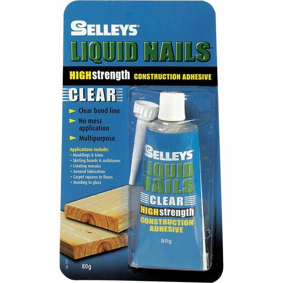 Liquid Nails - Clear, 80g, , scanz_hi-res