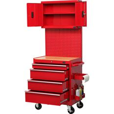 Workstation - 4 Drawer, Roller Cabinet, 27, , scanz_hi-res