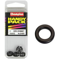 Champion Wiring Grommet - 1 / 8 X 9 / 32inch, BH001, Handy Pack, , scanz_hi-res