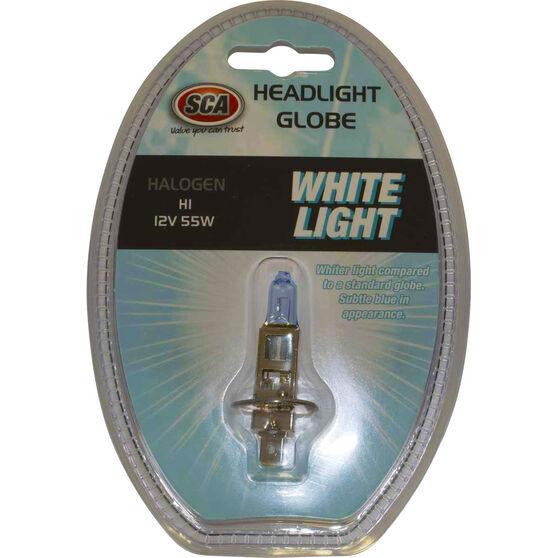 SCA White Light Performance Globes - 12V, 55W, H1, , scanz_hi-res