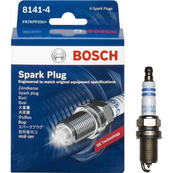 Bosch Spark Plug - 8141-4, 4 Pack, , scanz_hi-res