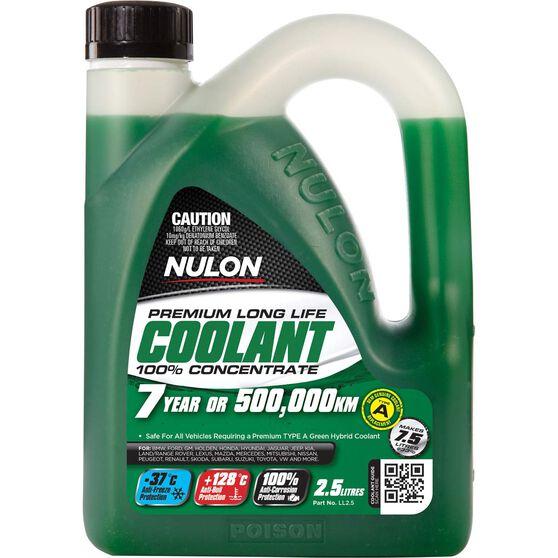 Nulon Long Life Anti-Freeze / Anti-Boil Concentrate Coolant - 2.5 Litre, , scanz_hi-res