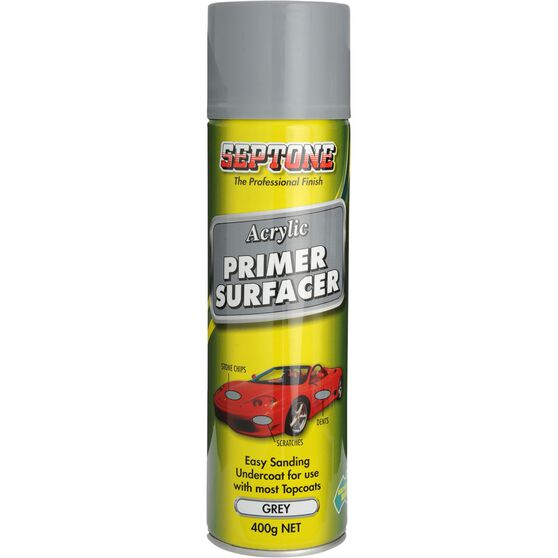 Septone Acrylic Primer Surfacer Grey 400g, , scanz_hi-res