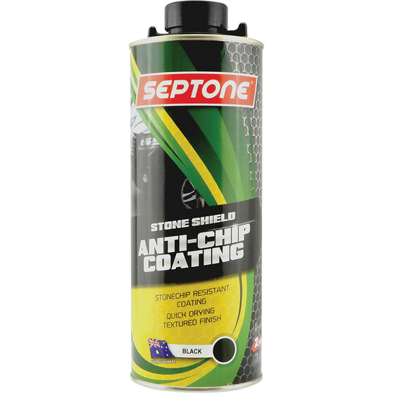 Septone Stone Shield Paint - Black, 1 Litre, , scanz_hi-res