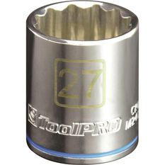 "ToolPRO Single Socket 1/2"" Drive 27mm, , scanz_hi-res"