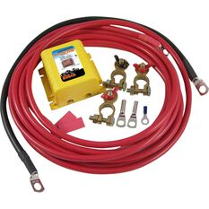 Ridge Ryder Dual Battery Isolator Kit - 12 Volt, , scanz_hi-res