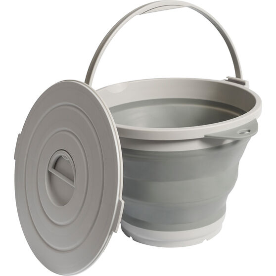 Ridge Ryder Collapsible Round Tub - 9 Litre, , scanz_hi-res