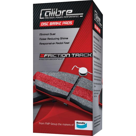Calibre Disc Brake Pads - DB1395CAL, , scanz_hi-res