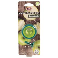 SCA Air Freshener, Vent Clip - Apple, , scanz_hi-res