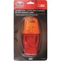 Trailer Lamp - Rectangular, LED, Combination, , scanz_hi-res