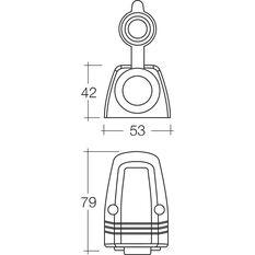 Narva 12/24V Accessory Socket - Heavy Duty, 20 Amp, Surface Mount, , scanz_hi-res