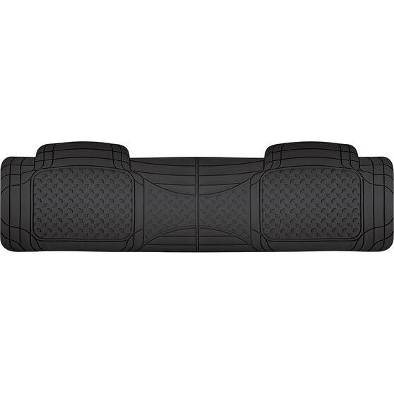 SCA Car Floor Mat - Rubber, Black, Rear, Single Rear, , scanz_hi-res