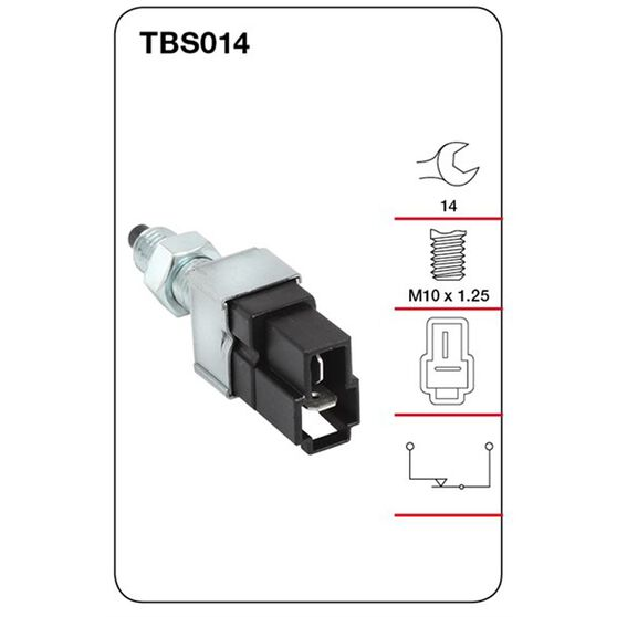 Tridon Stop Light Switch - TBS014, , scanz_hi-res
