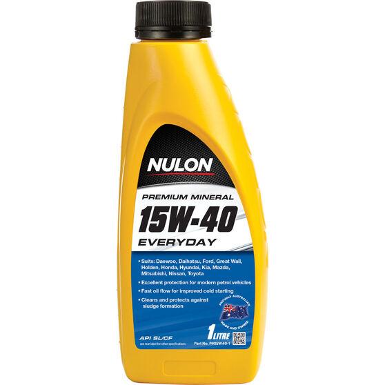 Nulon Premium Mineral Everyday Engine Oil - 15W-40, 1 Litre, , scanz_hi-res