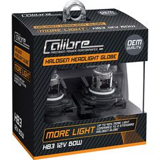 Calibre Headlight Globe Plus 90 - HB3, 12V, 55W, , scanz_hi-res