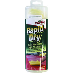 Turtle Wax Rapid Dry Chamois 64cm X 43cm, , scanz_hi-res