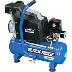 Blackridge Air Compressor 1HP Direct Drive 8 Litre tank, , scanz_hi-res
