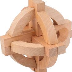 Wooden Mind Bender Puzzle, , scanz_hi-res