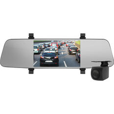 "Nanocam+ NCP-MIRDVR552 5.5"" Mirror Mounted Front & Rear Dash Camera Kit, , scanz_hi-res"