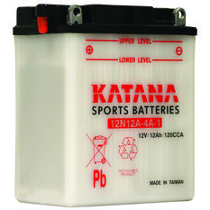 Powersports Battery -  12N12A4A1, , scanz_hi-res