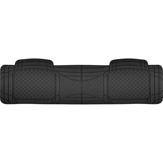 SCA Car Floor Mat - Rubber, Black, Rear, Single Rear, , scanz_hi-res