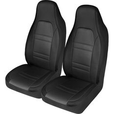 SCA Racing Seat Cover - Front Pair - Black / Grey, , scanz_hi-res