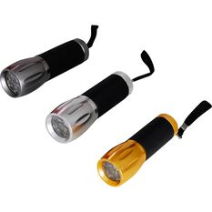 Ridge Ryder Aluminium Torch - LED, 3 Pack, , scanz_hi-res