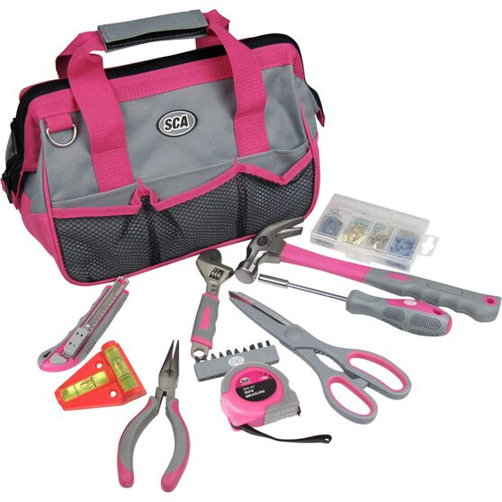 SCA Tool Bag Kit - 20 Piece, Pink, , scanz_hi-res