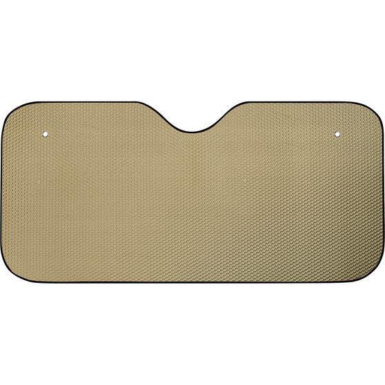 SCA Bubble Sunshade - Matte Gold, Accordion, Front, , scanz_hi-res