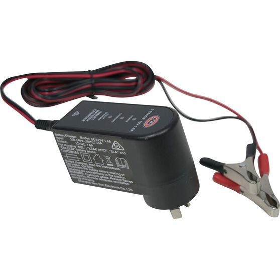 SCA Battery Charger - 3 Stage, 12V, 1.6 Amp, , scanz_hi-res