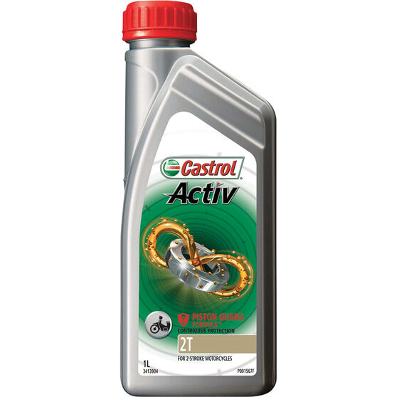 Activ 2T Motorcycle Oil - 1 Litre, , scanz_hi-res