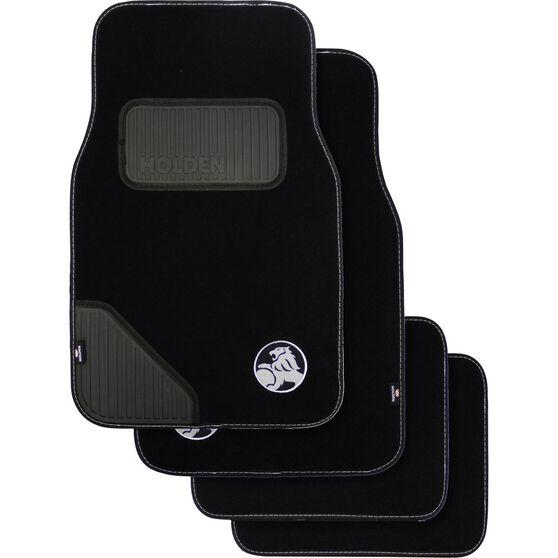 Car Floor Mats - Carpet, Black, Set of 4, , scanz_hi-res