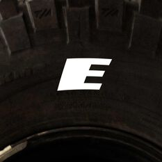 Tire Stickers - Letter E, , scanz_hi-res