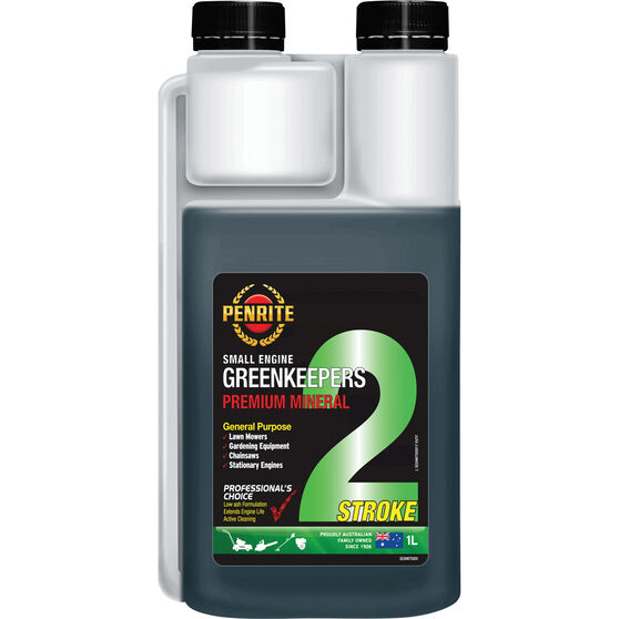 Greenkeepers 2 Stroke Lawnmower Oil - 1 Litre, General Purpose, , scanz_hi-res