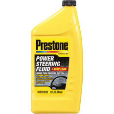 Prestone Power Steering Fluid with Stop Leak 946mL, , scanz_hi-res