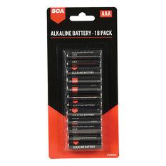 SCA Alkaline AAA Batteries 18 Pack, , scanz_hi-res